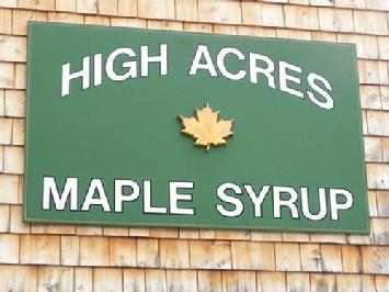High Acres Maple Syrup at Oak Hill Farm
